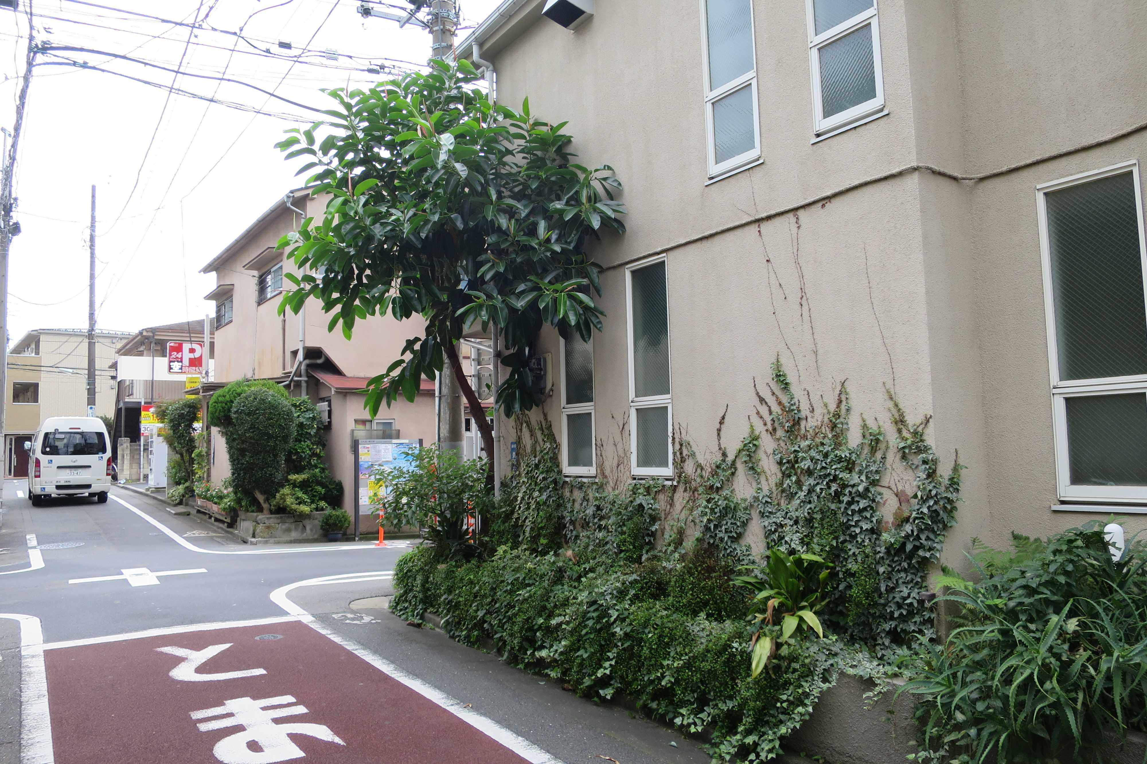 東京都品川区の辻(街角)