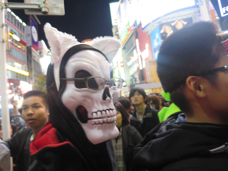 渋谷ハロウィン - がい骨(スカル)