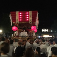 【恩智神社夏祭り】平成29年8月1日 Onji Shrine Summer Festival (August 1st, 2017) in Yao city of Osaka, Japan