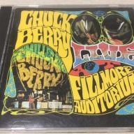 CD:チャックベリー  Chuck Berry ‎「 Live At The Fillmore」