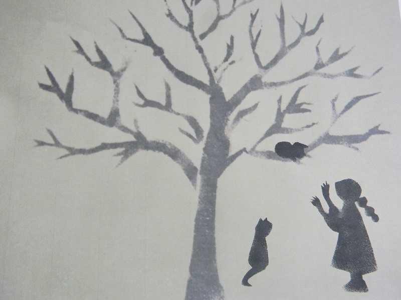 高き枝嬉し登りて怖気づく 母よ主よと鳴く仔猫かな