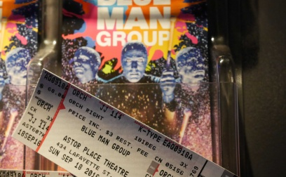 Blue Man👤💙in NYC