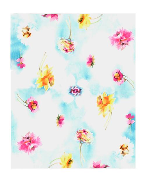 仕事絵,傘,花柄,高塚由子,Yoshiko,Taaktsuka,水彩画,Watercolor,イラスト