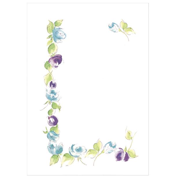 バラ,カード,花,春,植物,水彩画,イラスト,素材