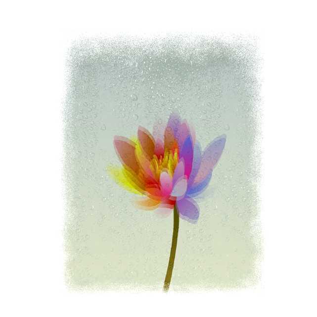 仕事絵,花,初夏,植物,水彩画,イラスト