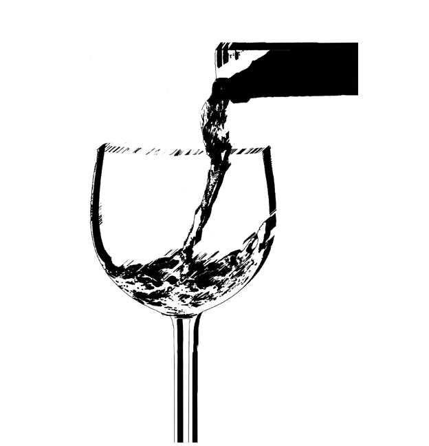 ワイン,高塚由子,Yoshiko,Taaktsuka,イラスト