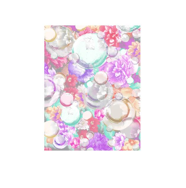 シャボン玉, 花, 背景, 高塚由子,Yoshiko,Taaktsuka,イラスト, CG, 素材
