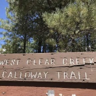 West Clear Creek Calldway Trail