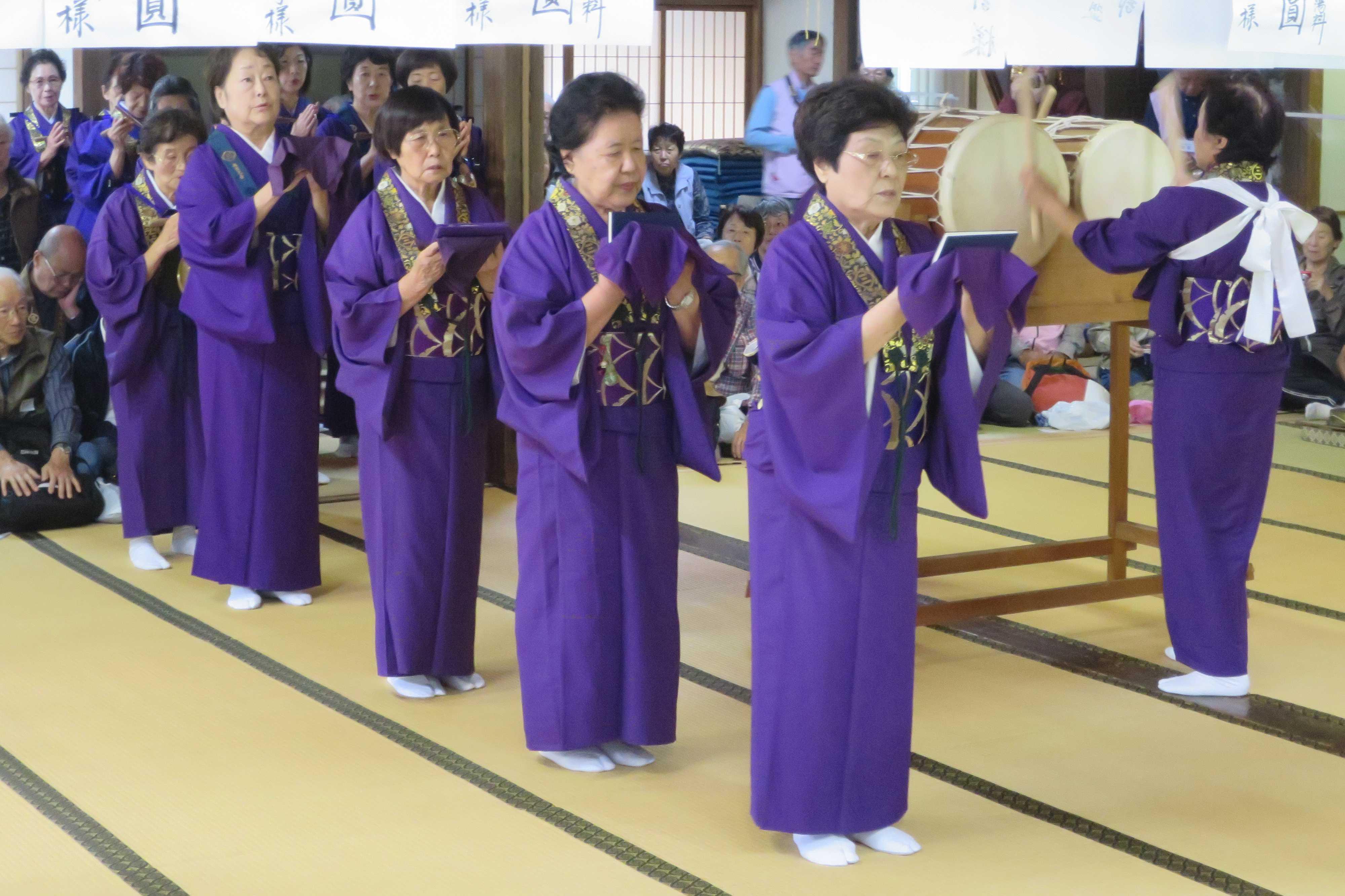 無量光寺の踊り念仏 - 唱名(南無阿弥陀仏)