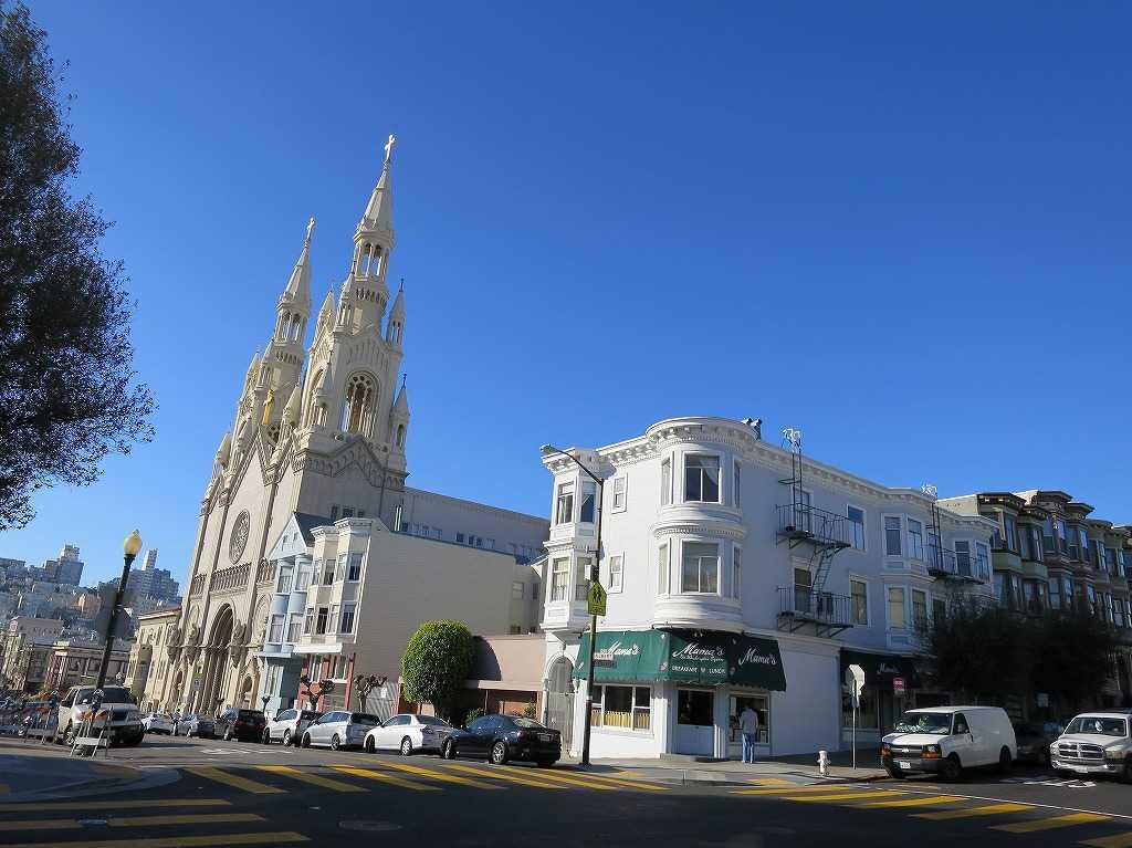 サンフランシスコ - 聖ピーター&ポール教会(聖ペテロ&パウロ教会)