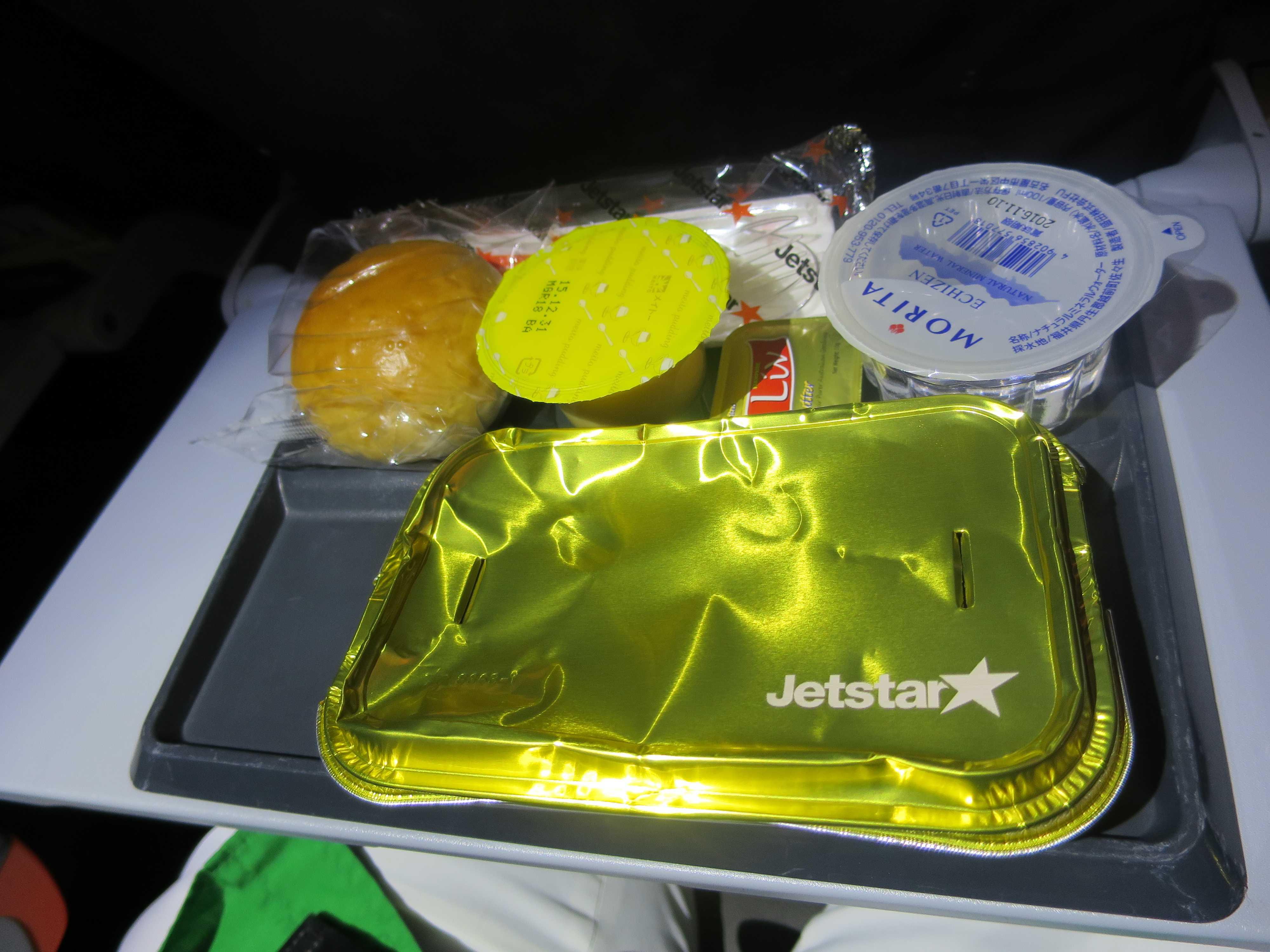 ジェットスター航空 機内食