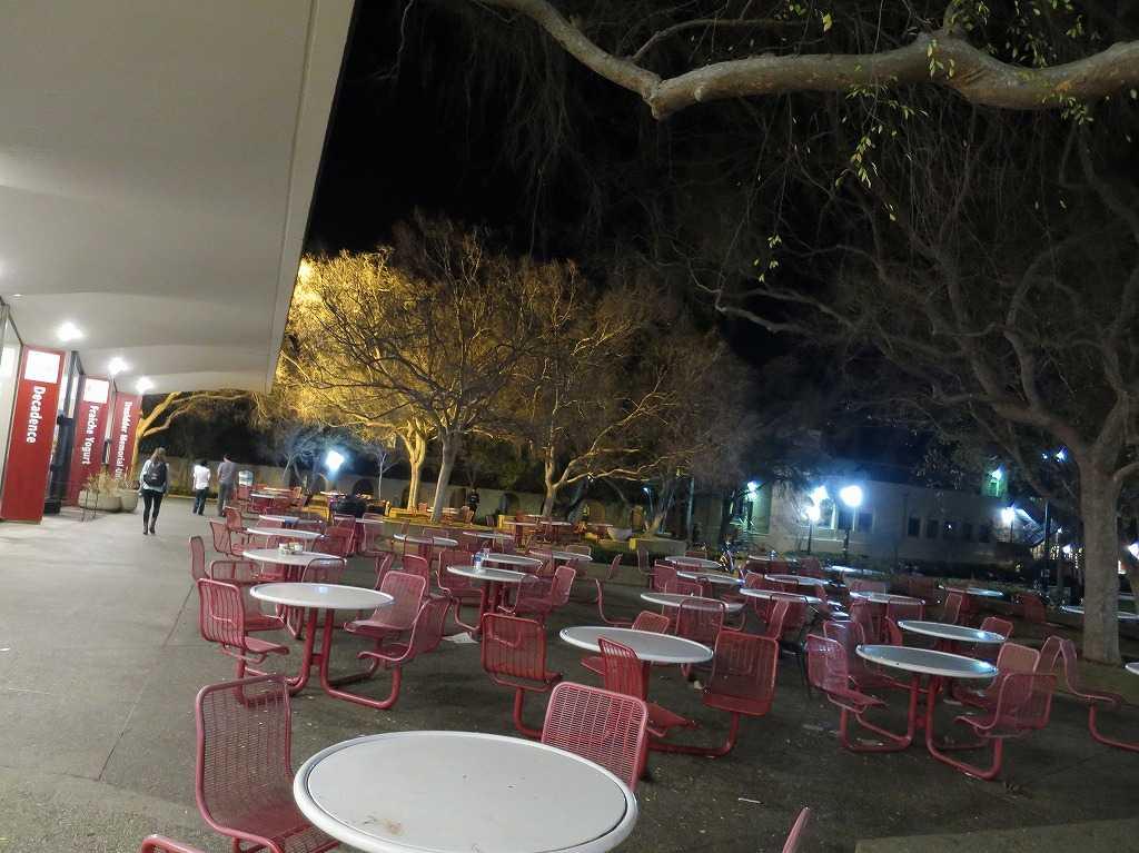 スタンフォード大学のカフェテリア