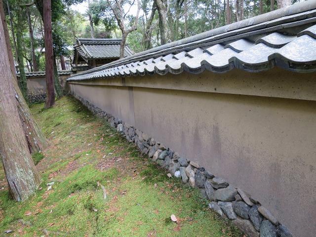 苔寺(西芳寺)の壁