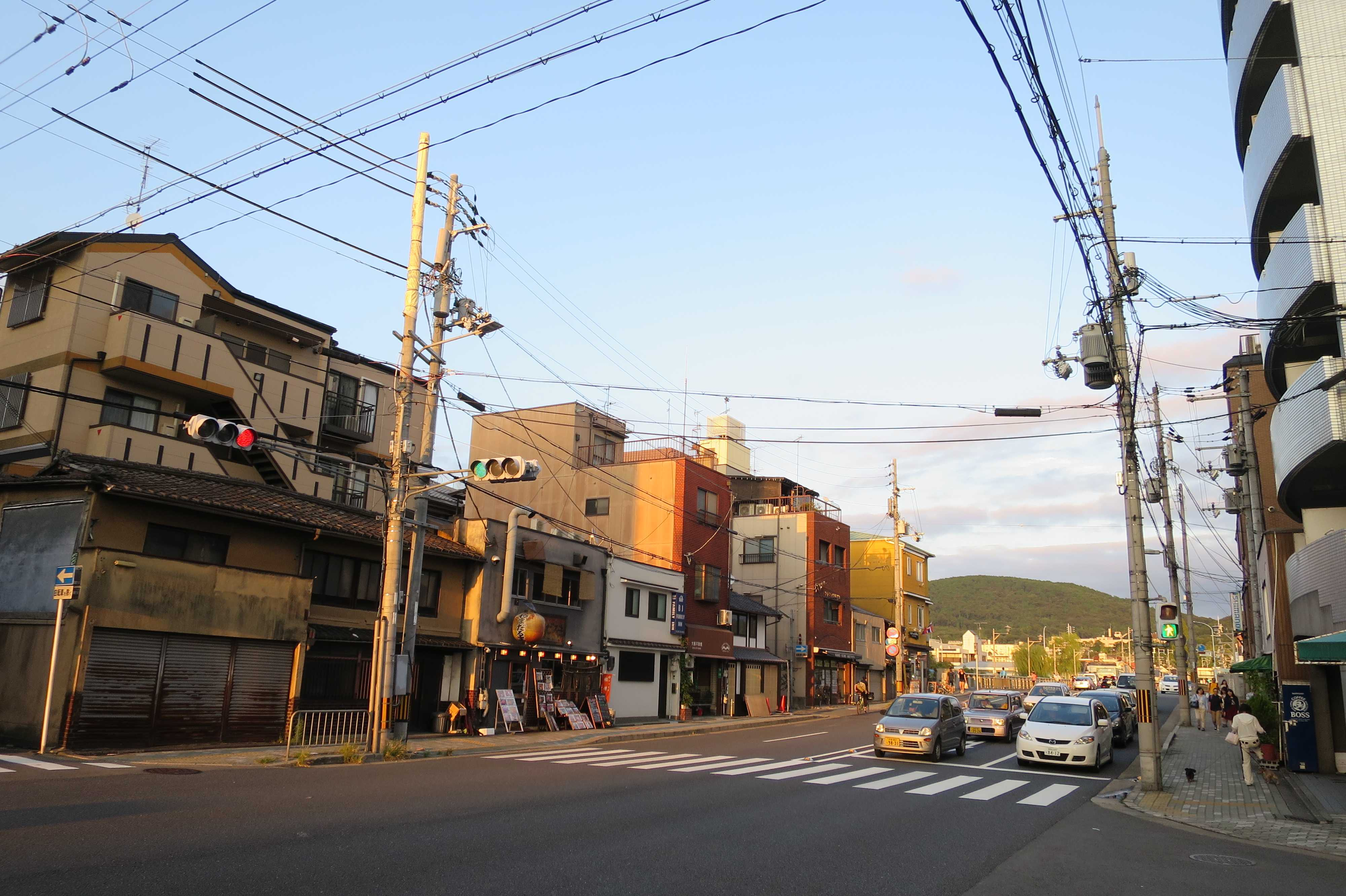 京都・崇仁地区 - 七条通