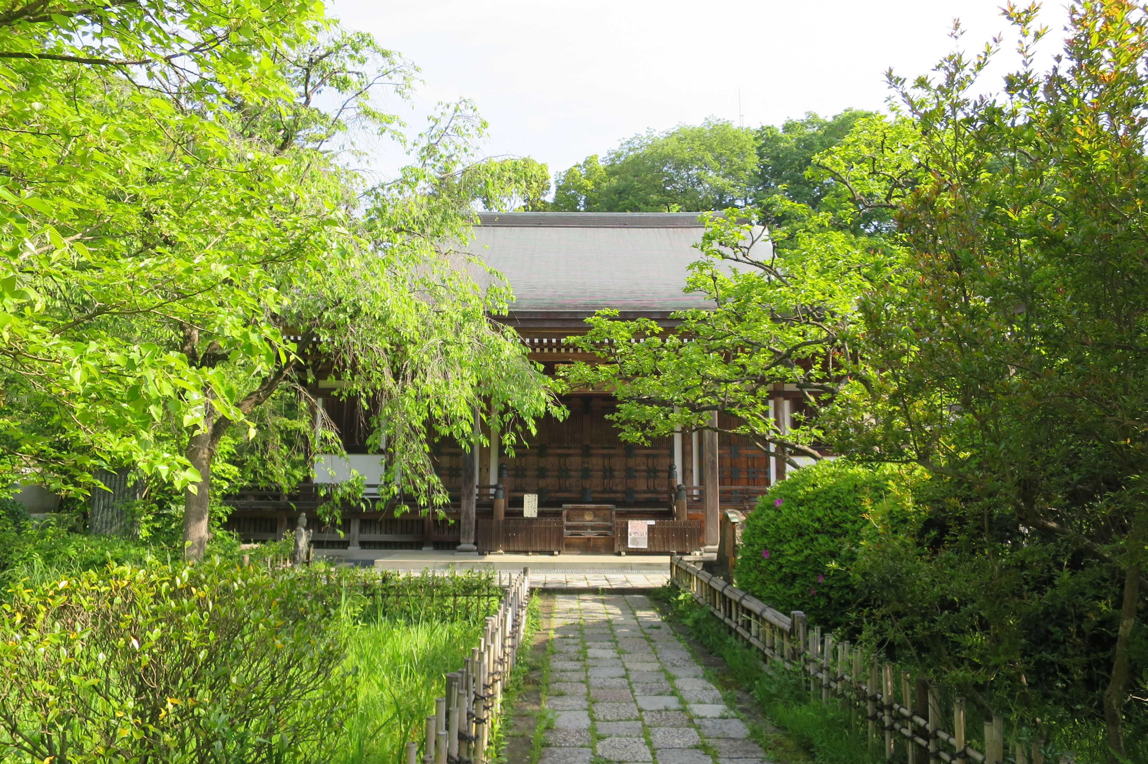 王禅寺 本堂