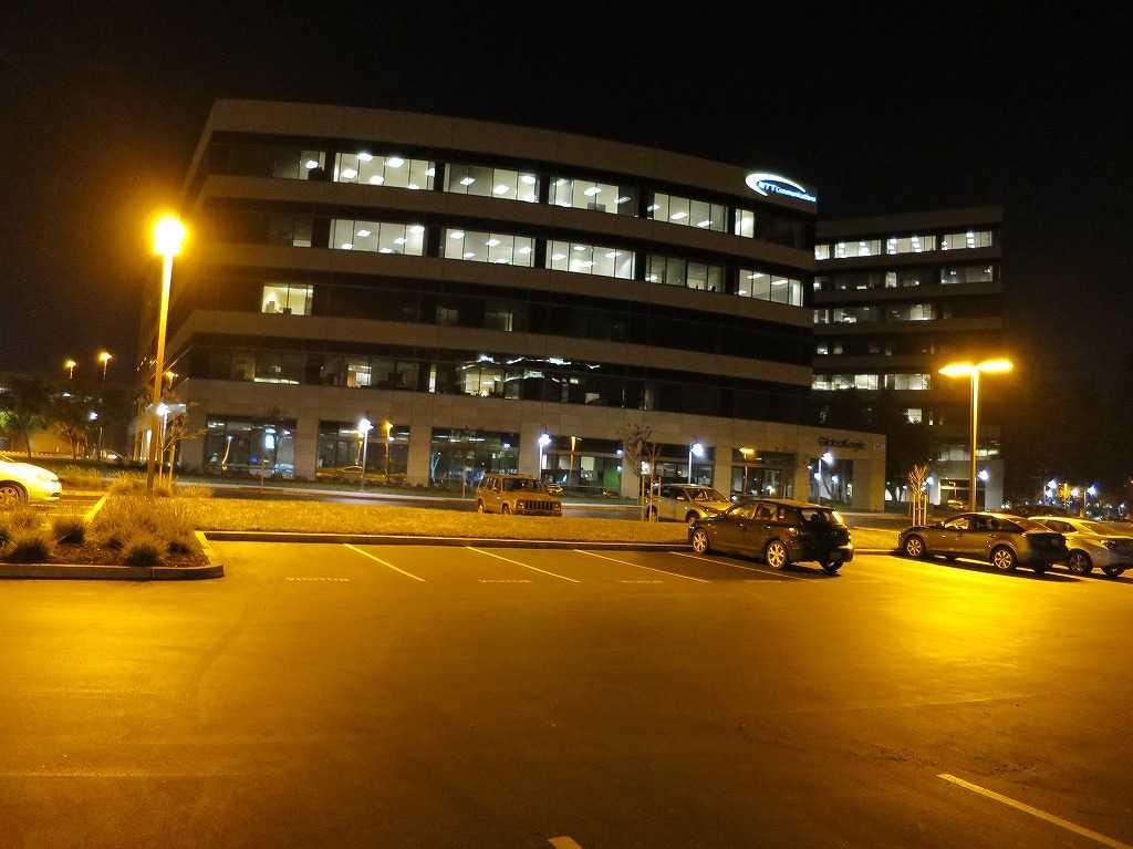 サンノゼ - 夜の NTTビル