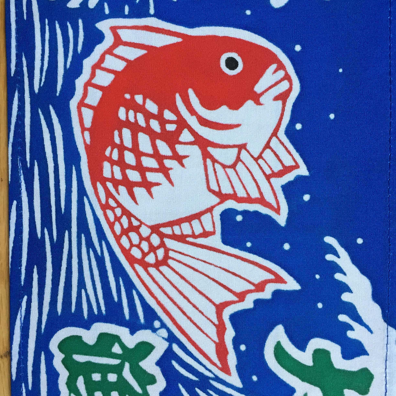 銚子の鯛の大漁旗