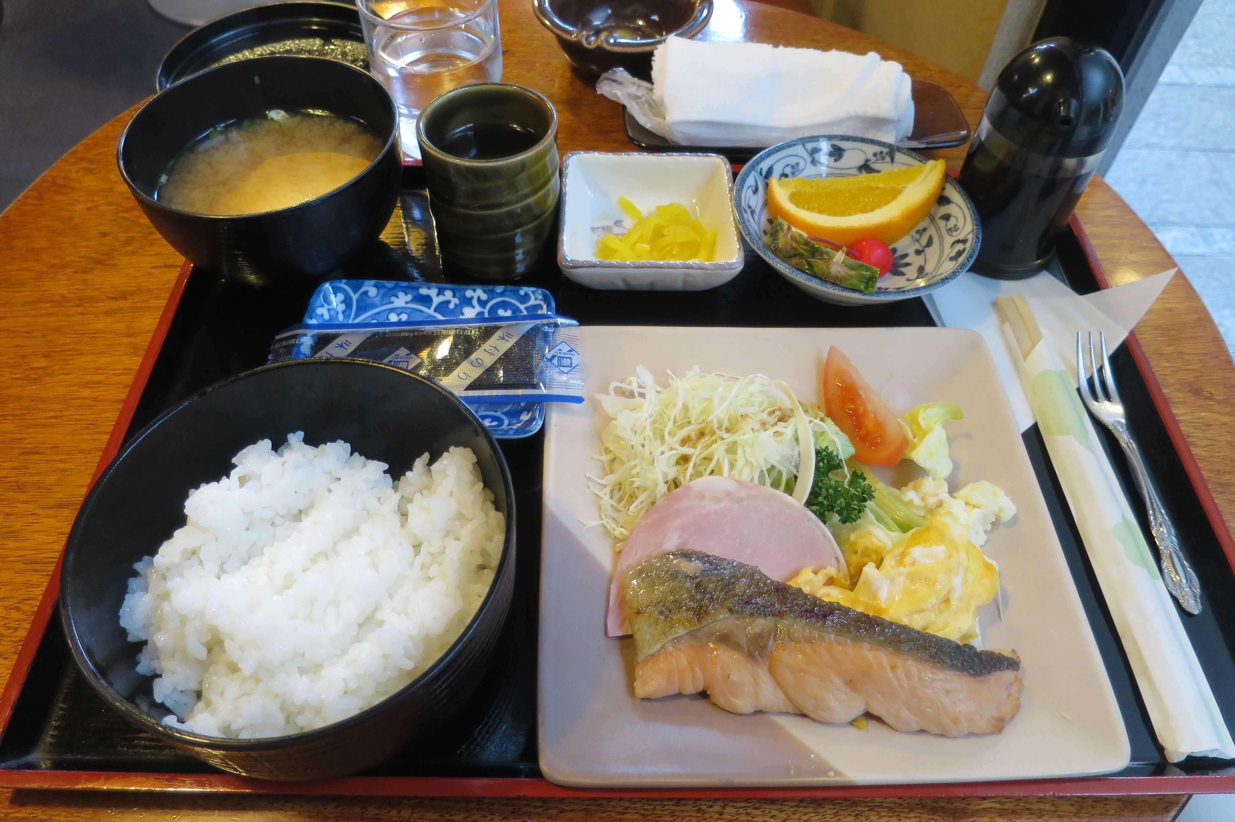 丸亀 - 「Fuji」の朝食。