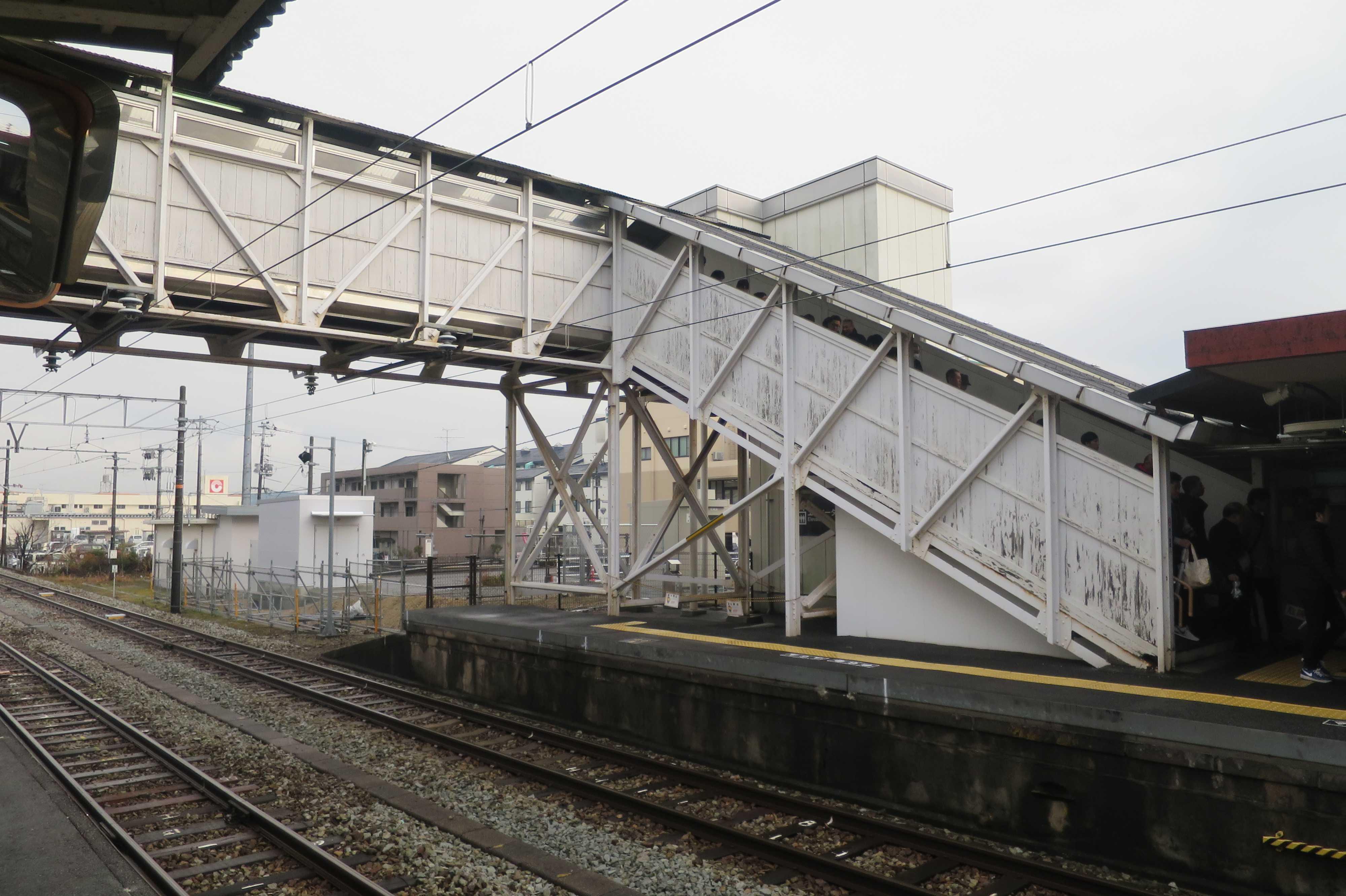 西大寺駅歩道橋