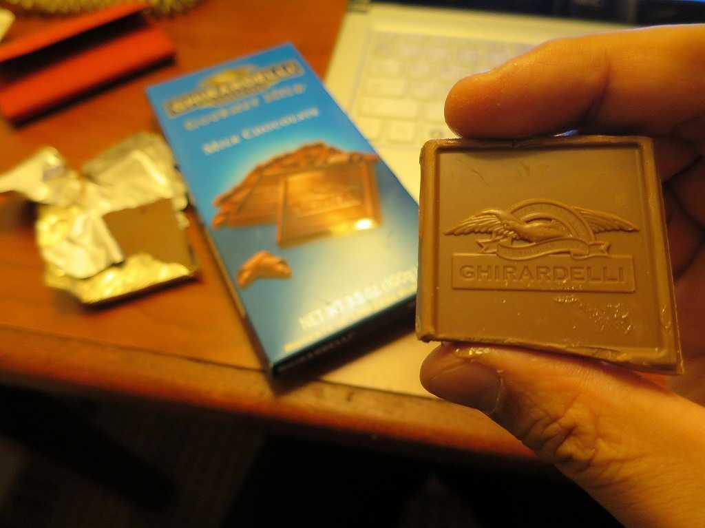 GHIRARDELLI(ギラデリ)のチョコレート