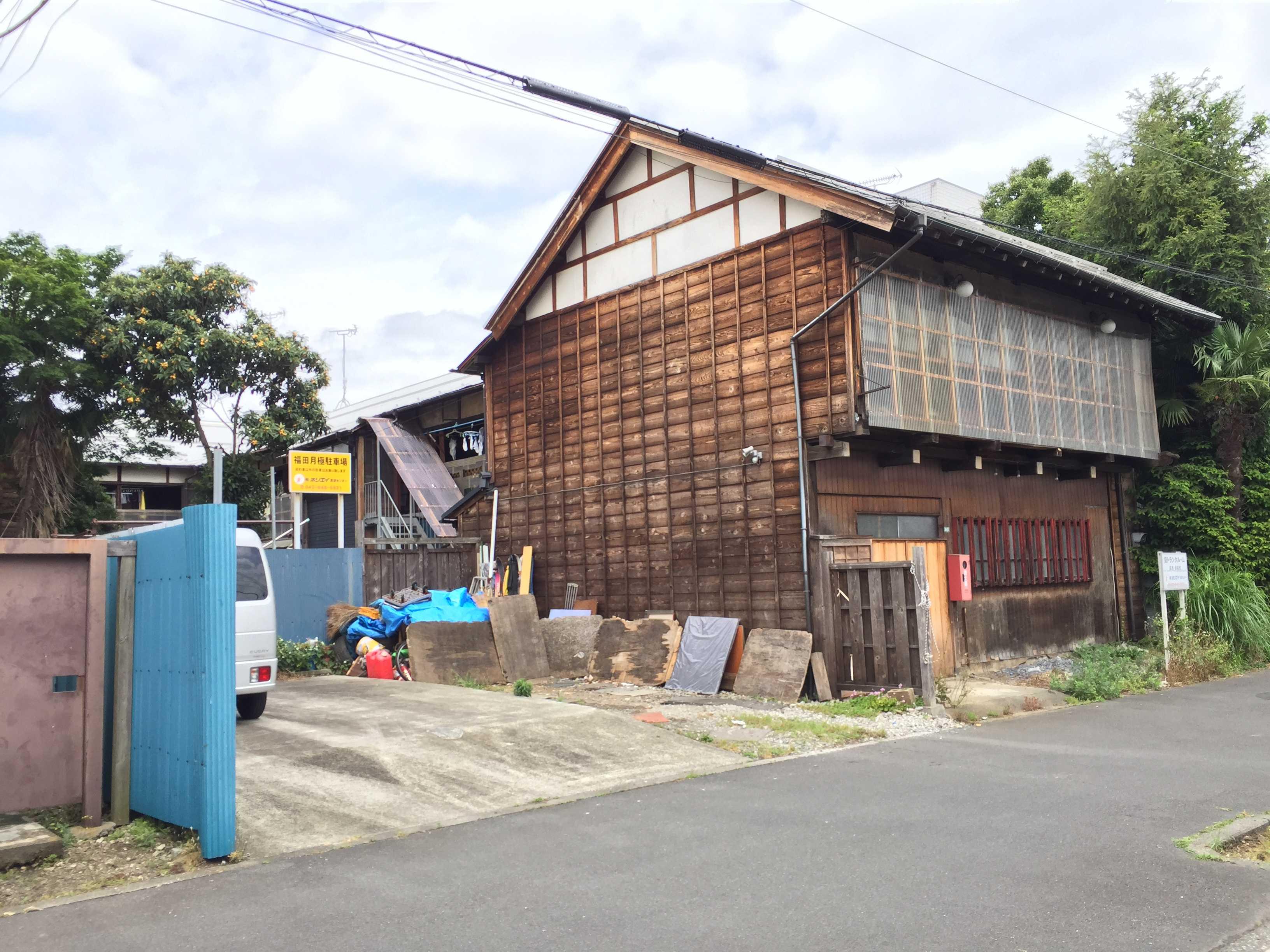 八王子の旧赤線地帯 田町遊郭跡(妓楼跡)