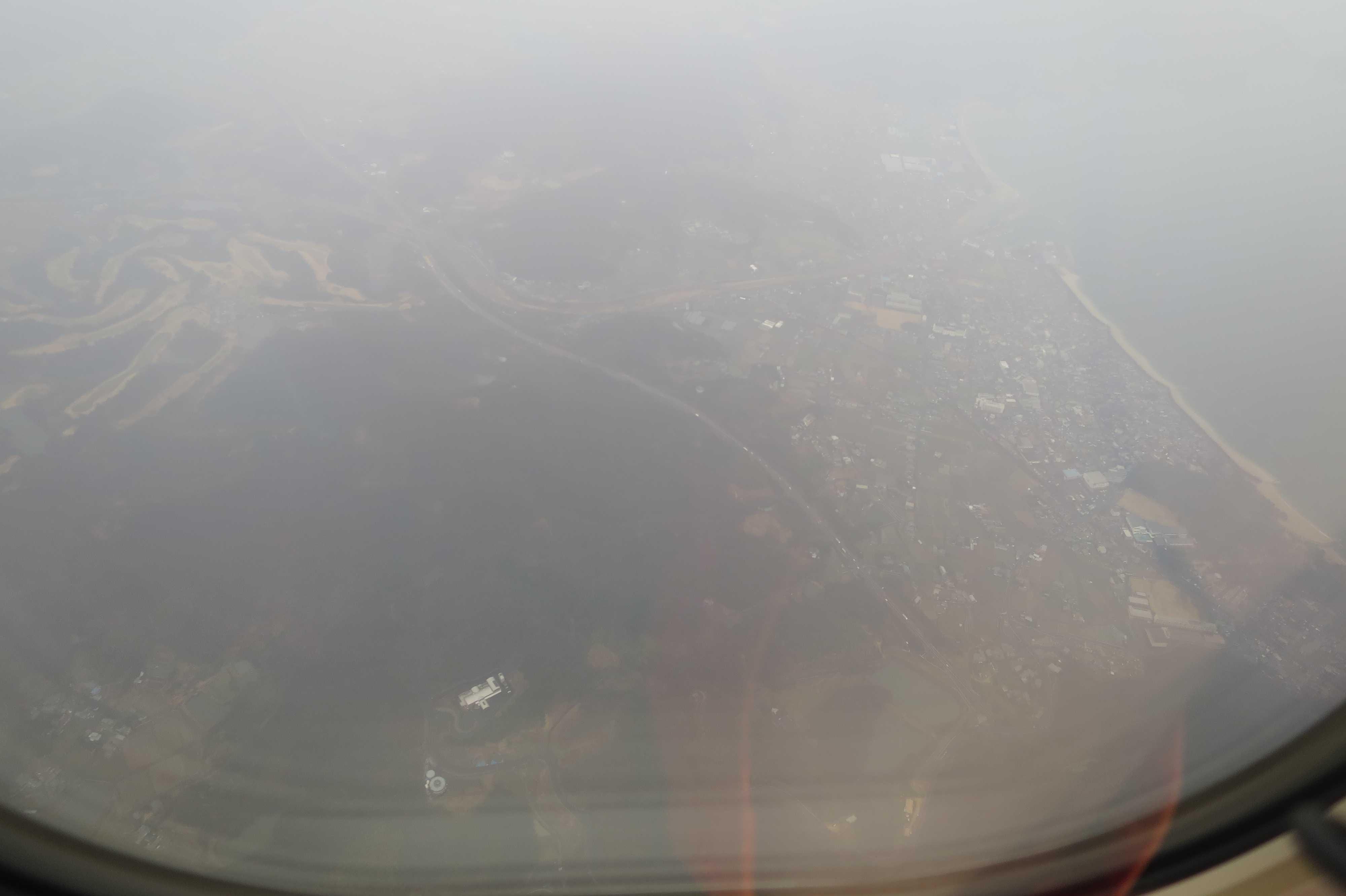 四国・香川県上空