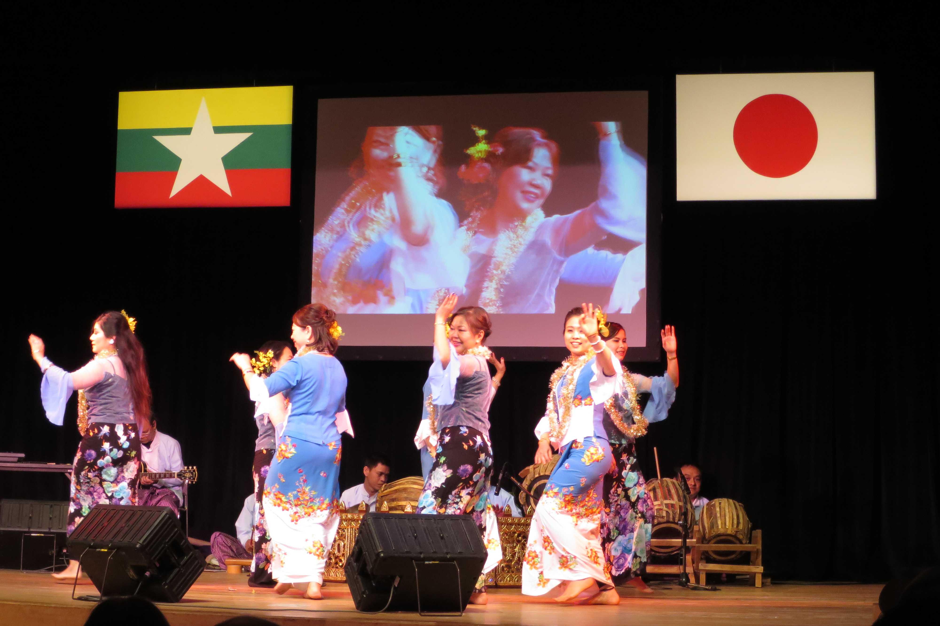 ミャンマー伝統芸能 - ミャンマー祭り2016