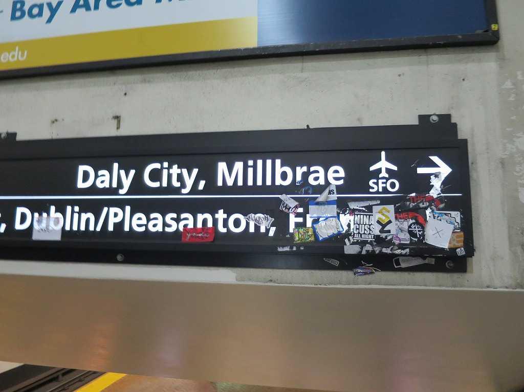 SFO(サンフランシスコ国際空港)→
