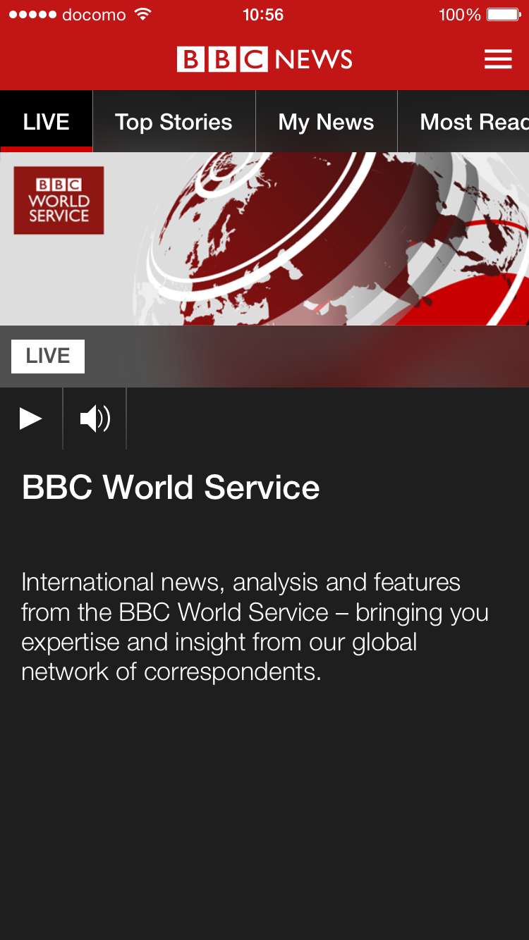 BBC World Service(BBC/英国放送協会)