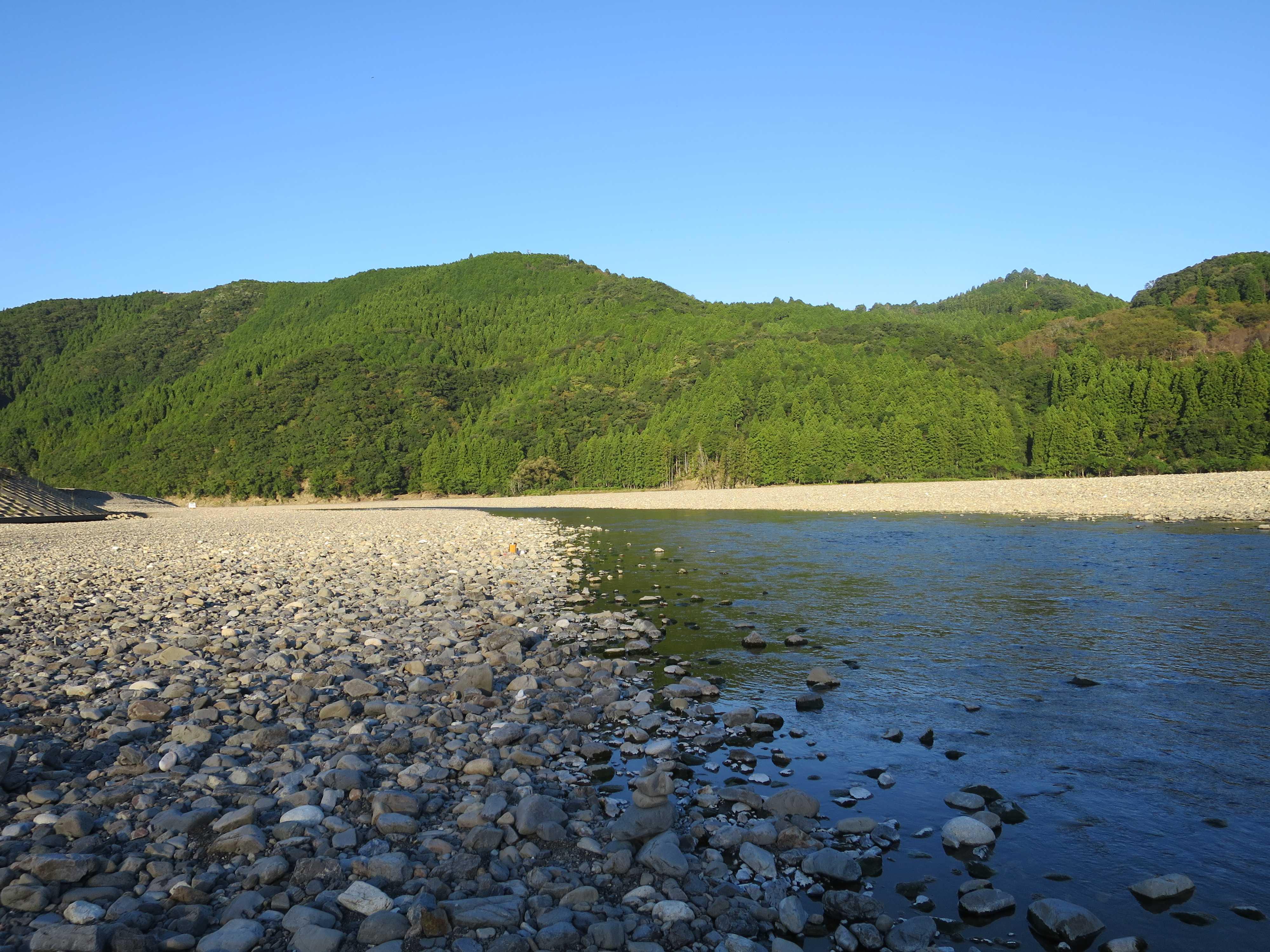 川の参詣道「熊野川」