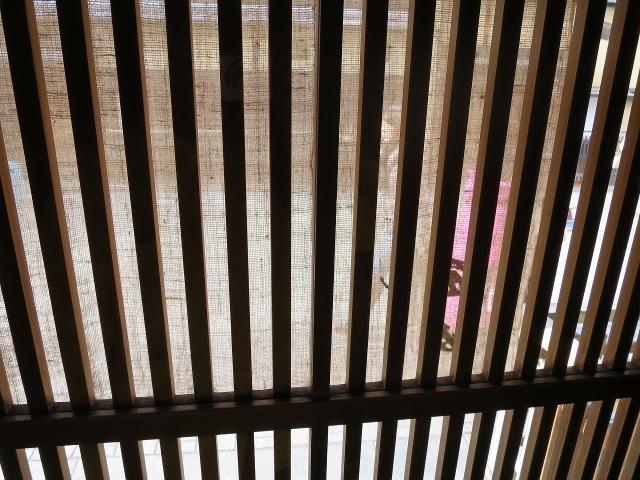祇園の格子戸