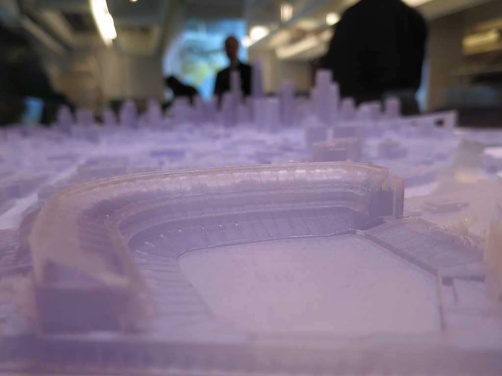 3Dプリンターのベースボールパーク