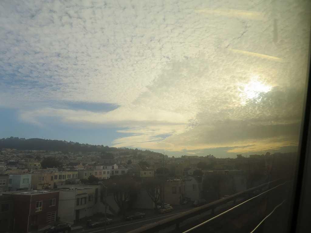 サンフランシスコ - 雲