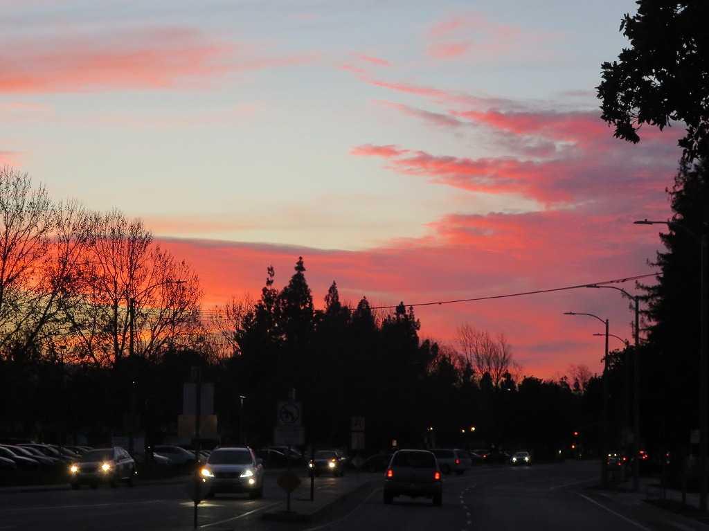 ローレンス - 真っ赤な夕日
