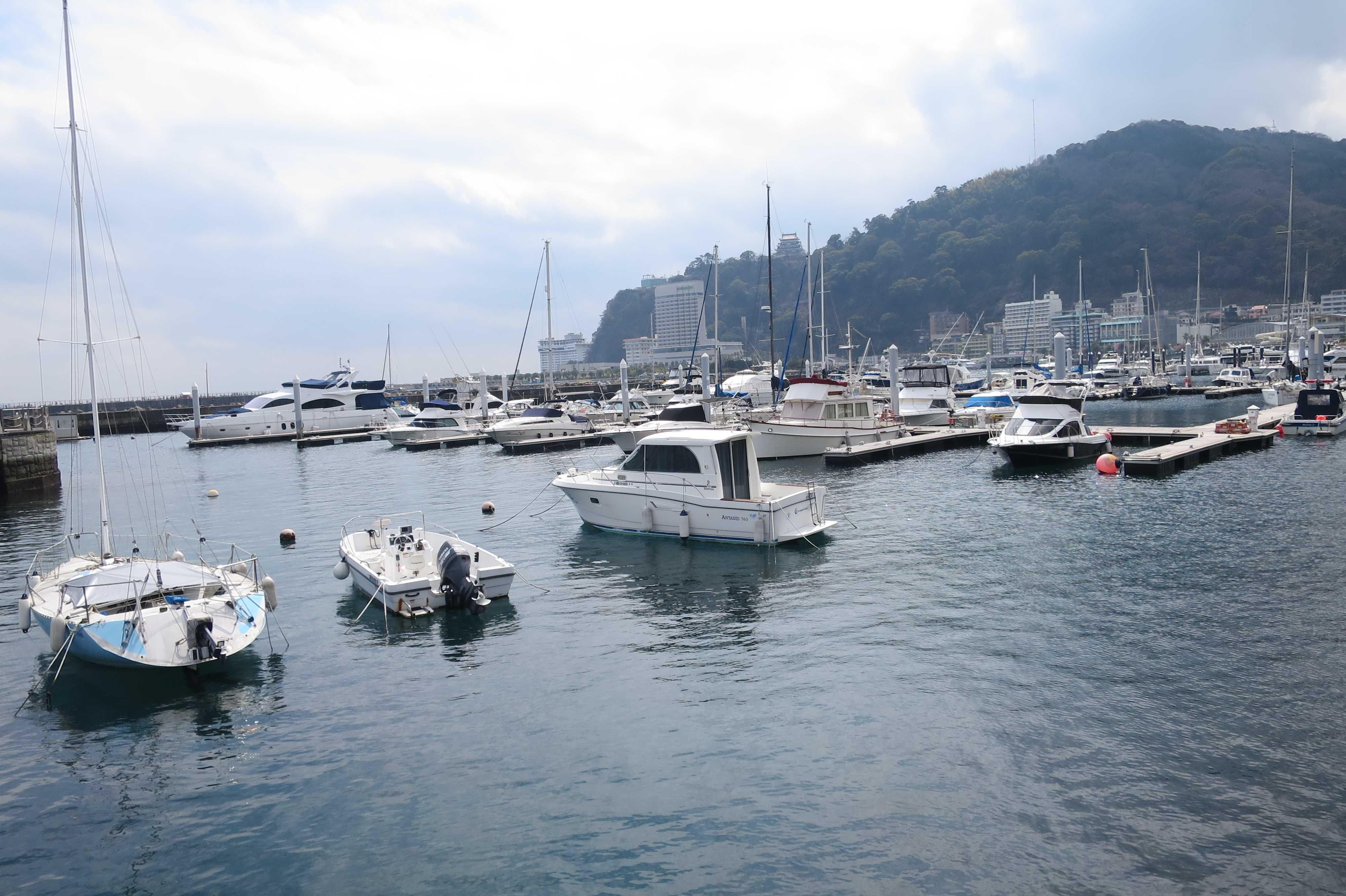 スパ・マリーナ熱海 - 係留されている船