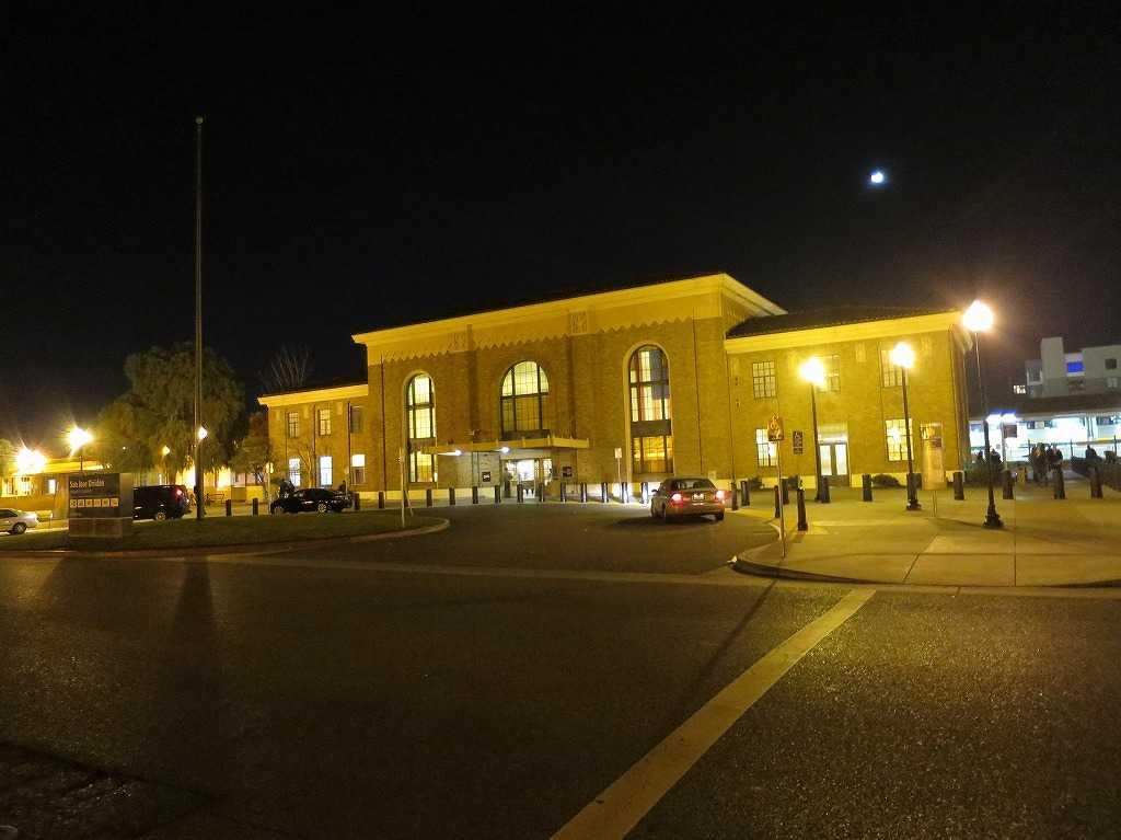 サンノゼ・ディリドン駅 駅舎