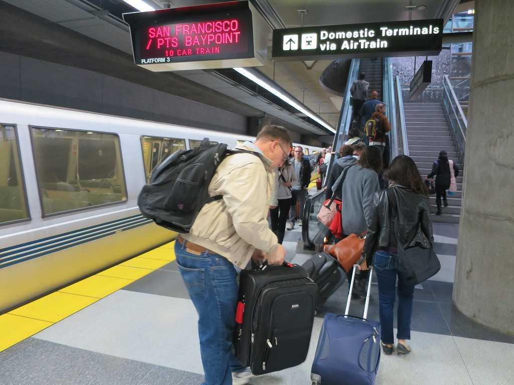 BART/バート サンフランシスコ国際空港駅(San Francisco International Airport Station)