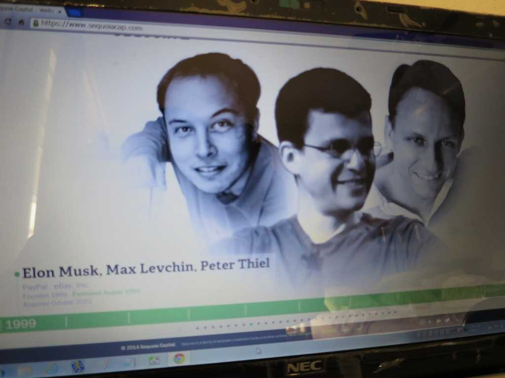 Elon Musk(イーロン・マスク), Max Levchin, Peter Thiel