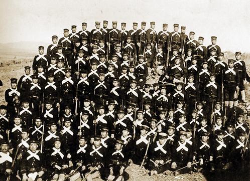日露戦争・旅順攻囲戦の白襷隊