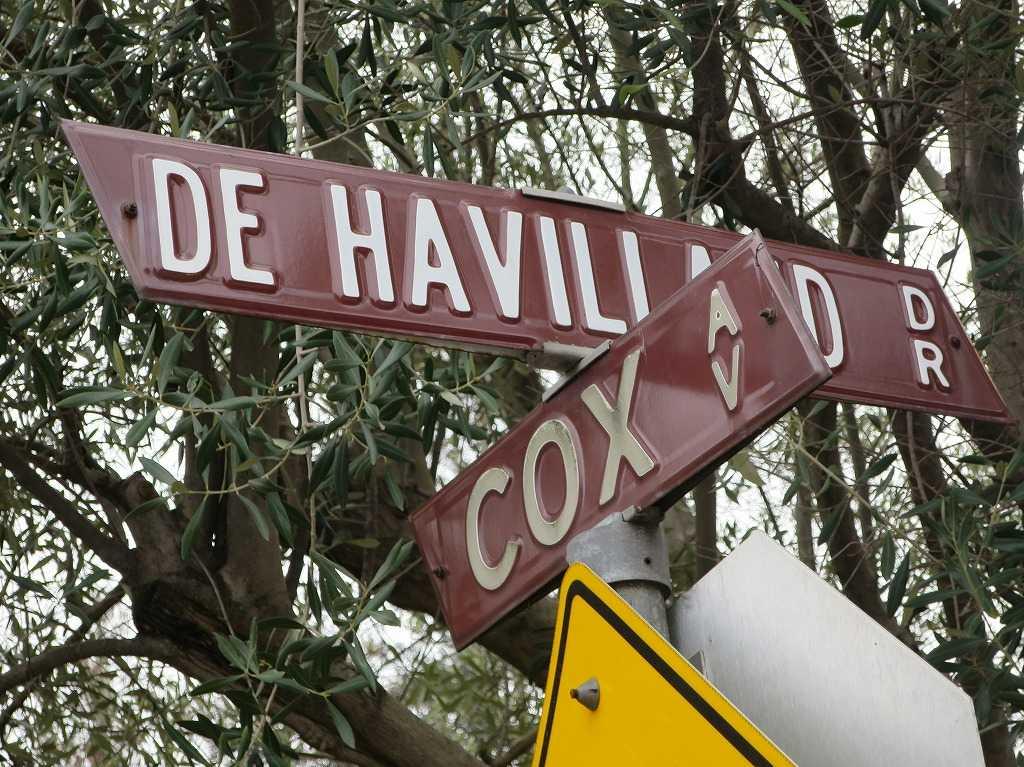 サラトガの道路標識
