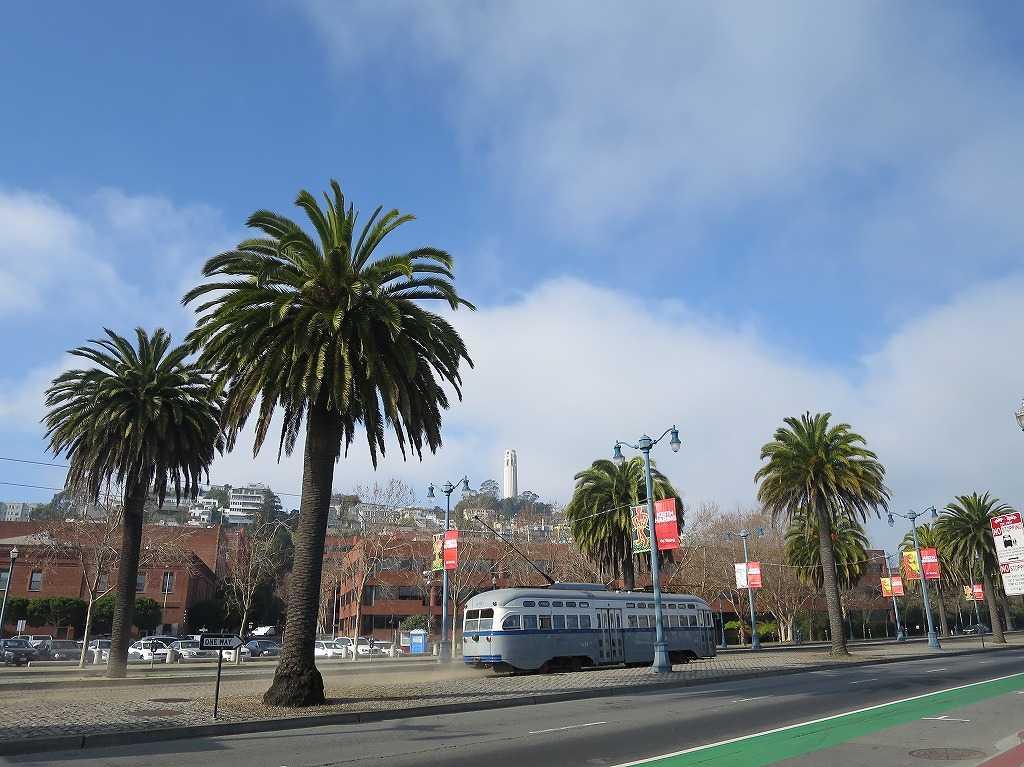 サンフランシスコの路面電車 - Fライン