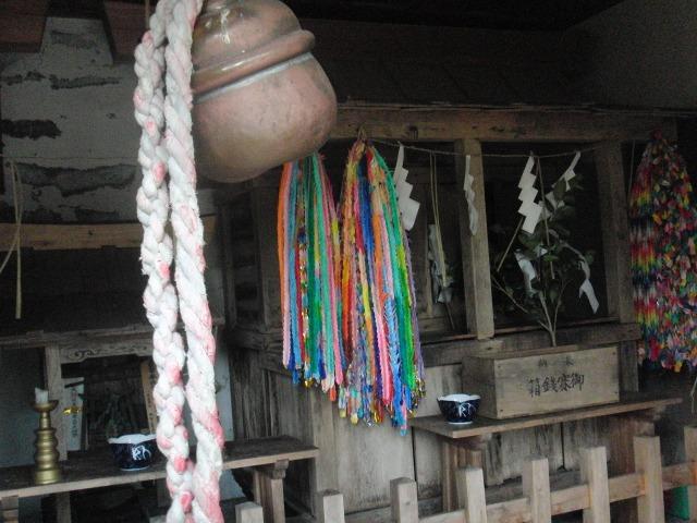 檜枝岐の舞台 - 鎮守神社