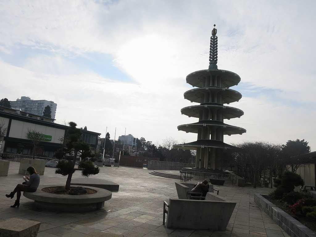 五重塔(ジャパンタウンの塔)