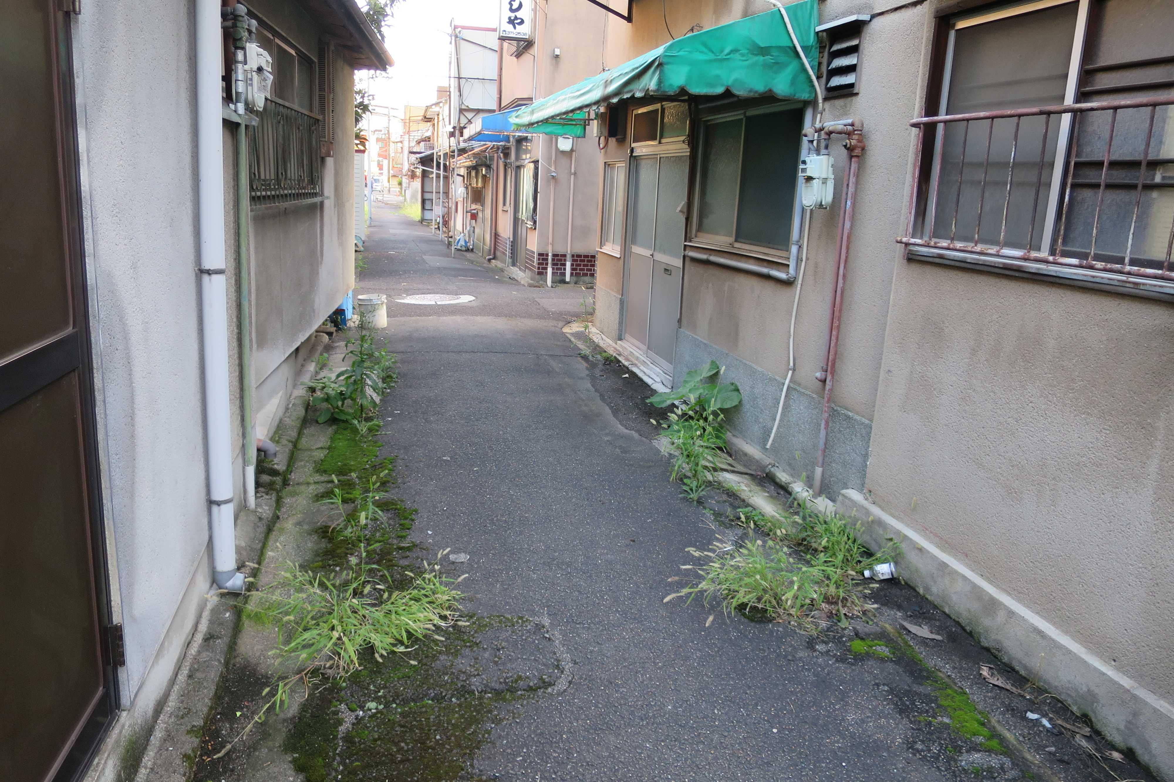 京都・崇仁地区の小路