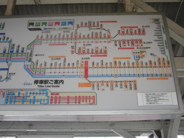 東武線 路線図