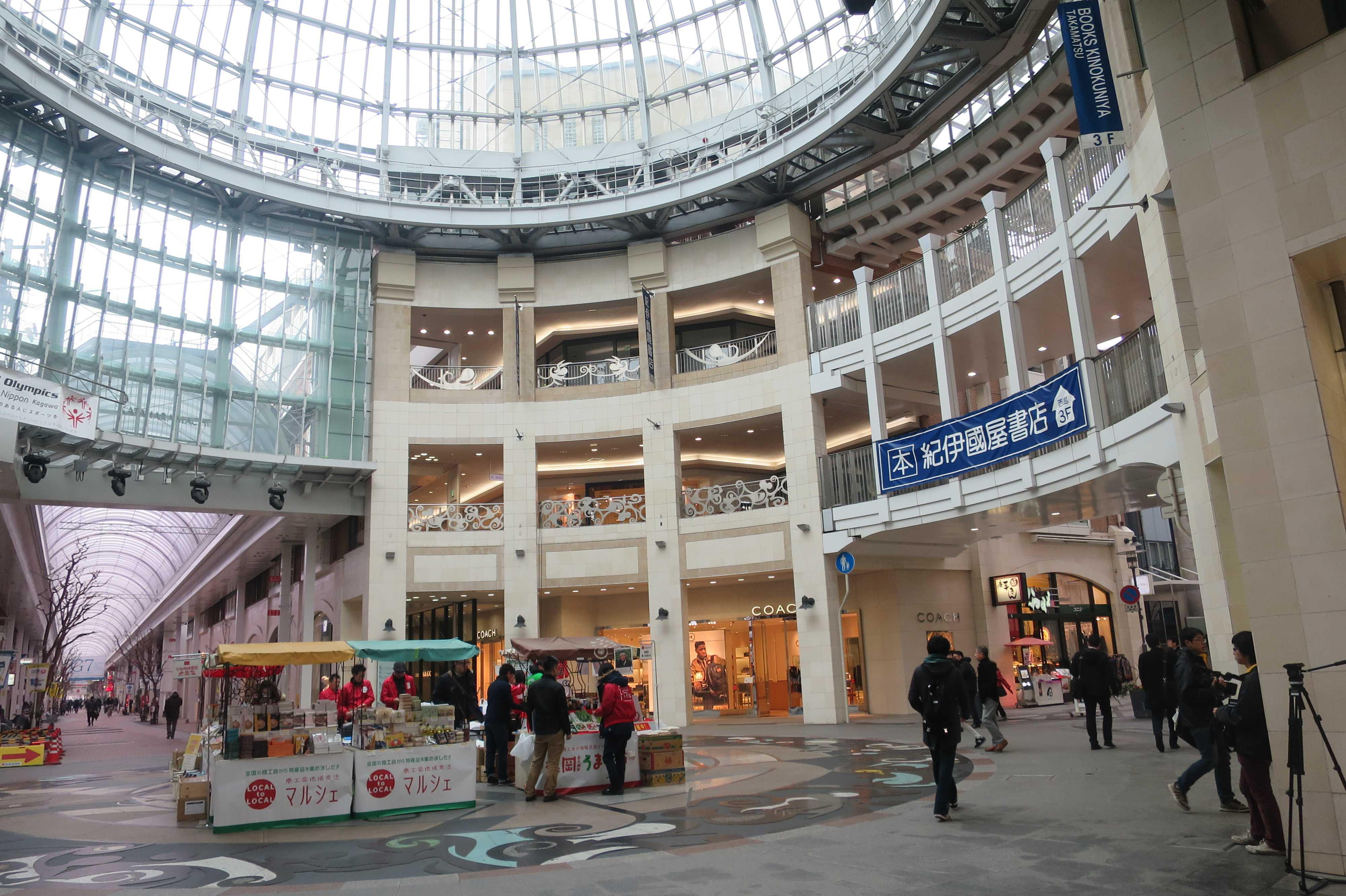 兵庫町商店街の中心部