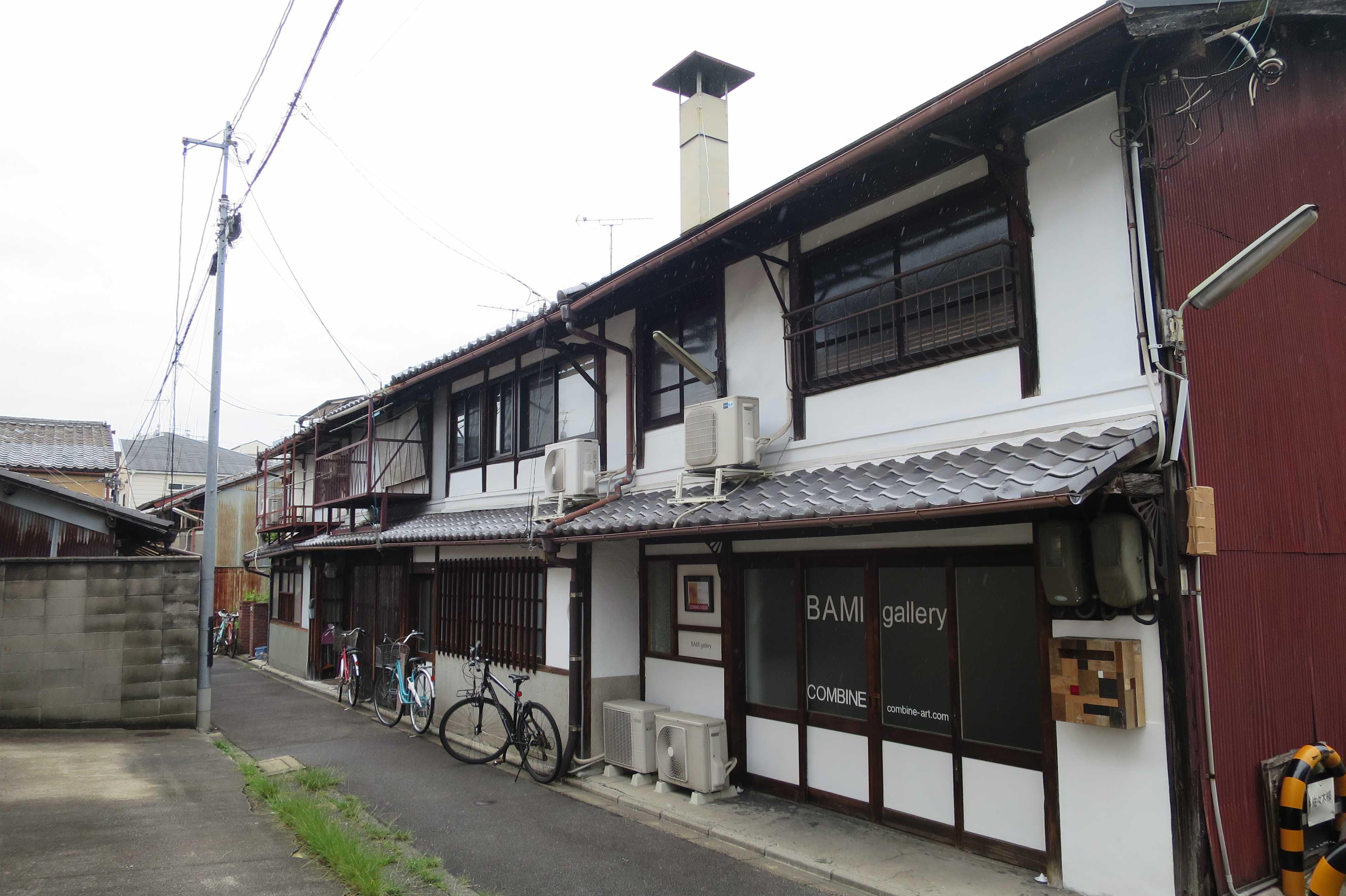京都 - えんとつのある長屋