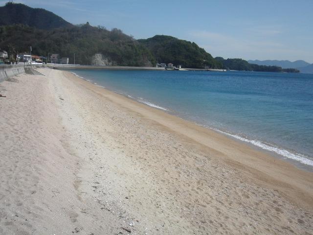 尾道・向島の名も知れぬ砂浜