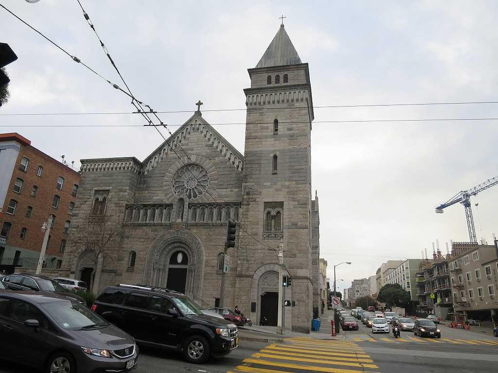 サンフランシスコ - 聖ブリジッド教会(St. Brigid Church)