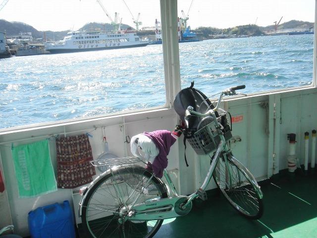 連絡船としまなみ海道サイクリングで使ったレンタサイクル